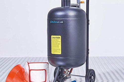 Mobiles Sandstrahlgeraet 45 Liter 500x330 - Mobiles Sandstrahlgerät - 45 Liter