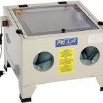 Pro-Lift-Werkzeuge Sandstrahlgerät 90 l Sandstrahlkabine Sandstrahler 90 Liter Zubehör sand blaster Industrie Tischmodell